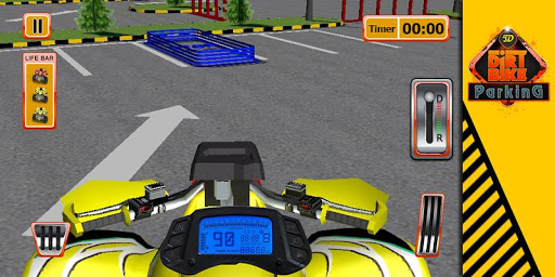 3D越野车停车游戏