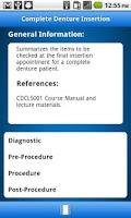 Screenshot of Dentistry ProConsult