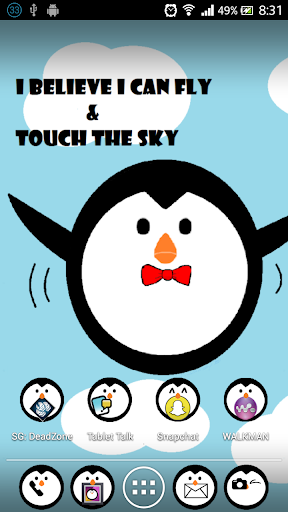 Free Penguin Apex Nova theme