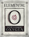 Elemental Hard Cider Oxygen Pomegranate Cider