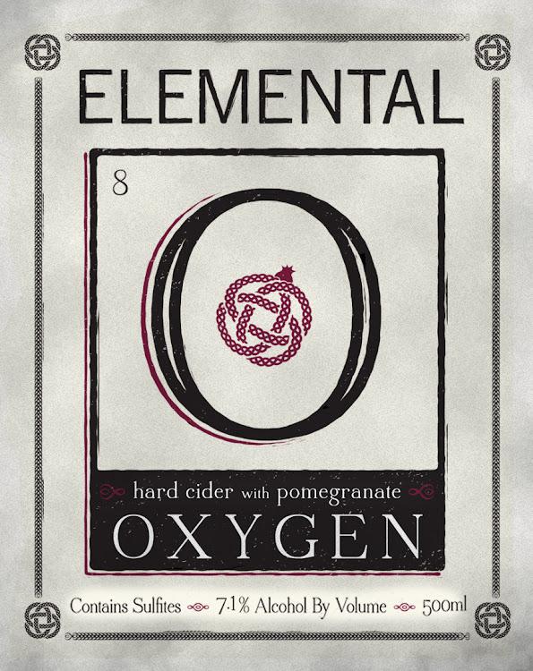 Logo of Elemental Hard Cider Oxygen Pomegranate Cider