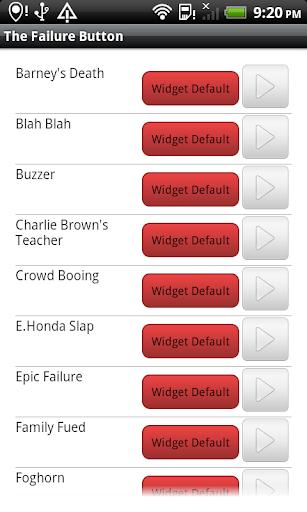 The Failure Button