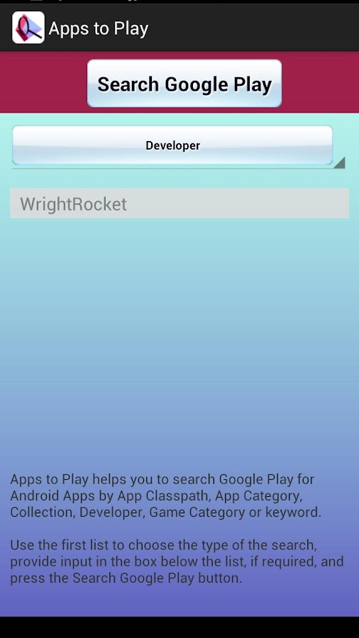 Apps To Play - screenshot