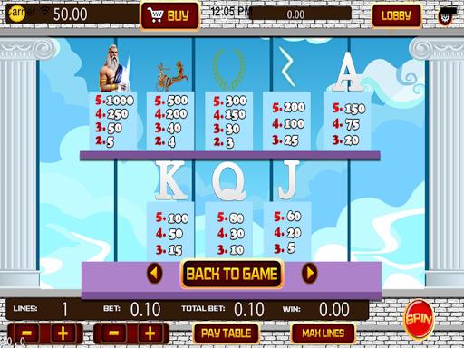 free zeus casino game