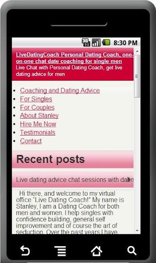 Dating Advice Coach