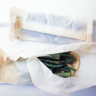 Steamed Veggies in Parchment Parcels.