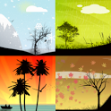 Seasons Live Wallpaper icon