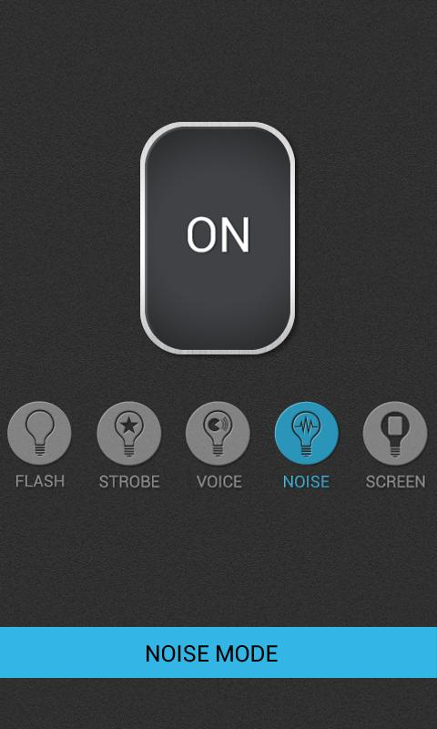 Voice Flashlight Pro - screenshot