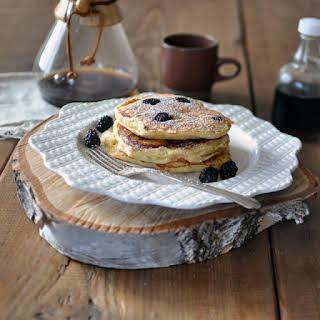 Berry Ricotta Pancakes.