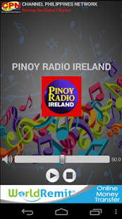 Pinoy Radio Ireland- screenshot thumbnail