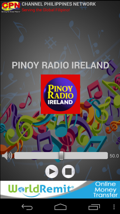 Pinoy Radio Ireland- screenshot