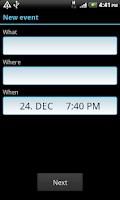 Screenshot of Add Contact [WIDGETON]
