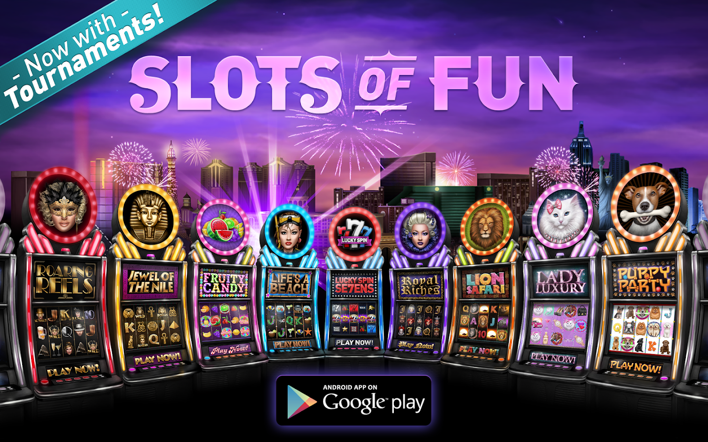 free poker slots games for fun