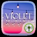Violet GO Locker Theme icon