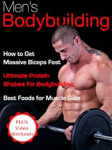 Men's Body Building Magazine - náhled