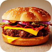 Burger Live Wallpaper