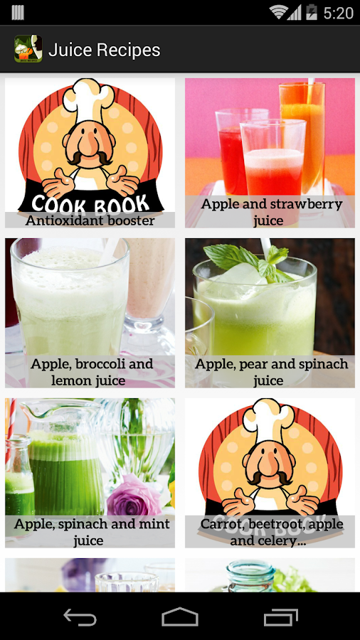 Healthy Juice Recipe Free - screenshot