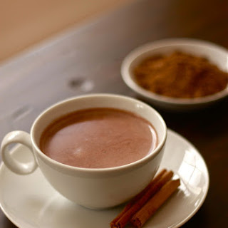 Seven Spice Hot Chocolate.