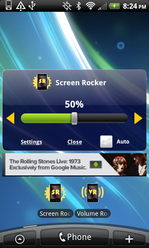 Screen Rocker - screenshot