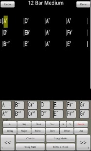 ChordPad - Android Chord Book - screenshot thumbnail