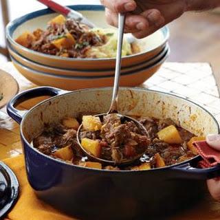 Pork and Pumpkin Stew.