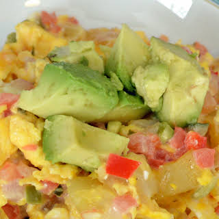 Southwest Style Breakfast Scramble.