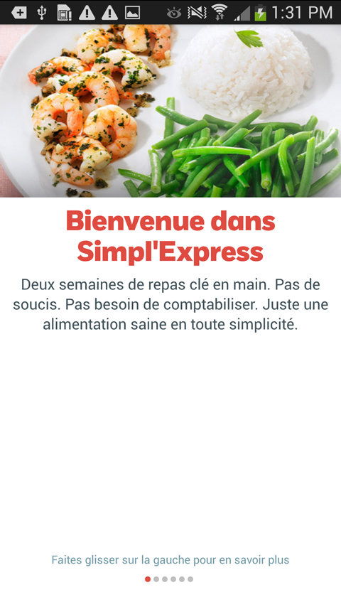 Weight Watchers Simpl'Express - screenshot