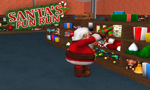 Christmas Game Santa's Fun Run