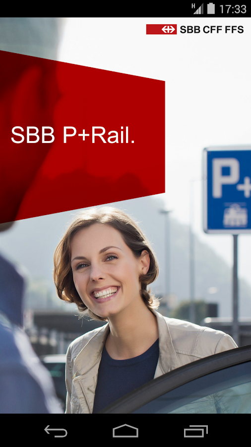 SBB P+Rail- screenshot
