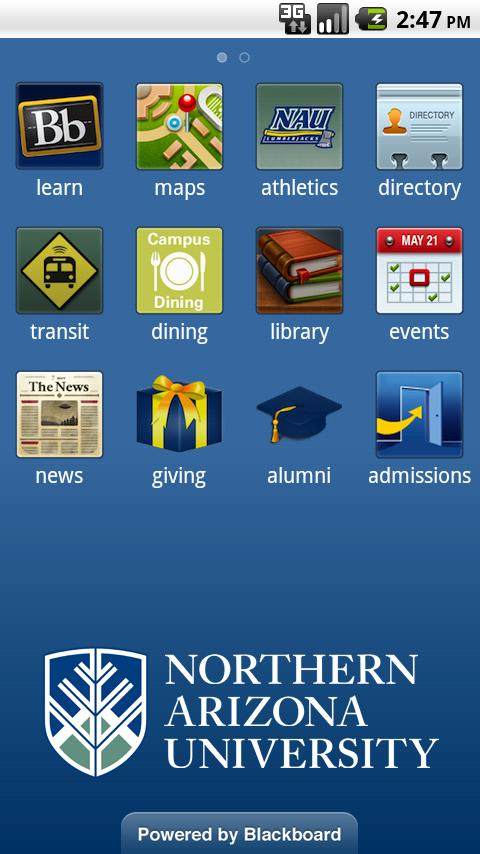 Northern Arizona University- screenshot