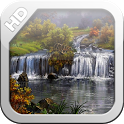 Awesome Waterfalls L Wallpaper icon