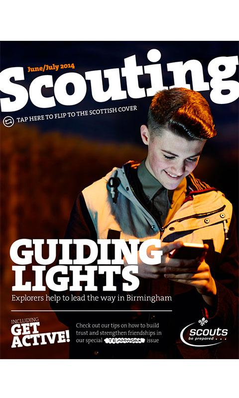 Scouting Magazine- screenshot