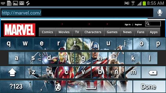 Avengers Keyboard Skins - screenshot thumbnail
