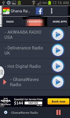 Ghana Radio News - screenshot