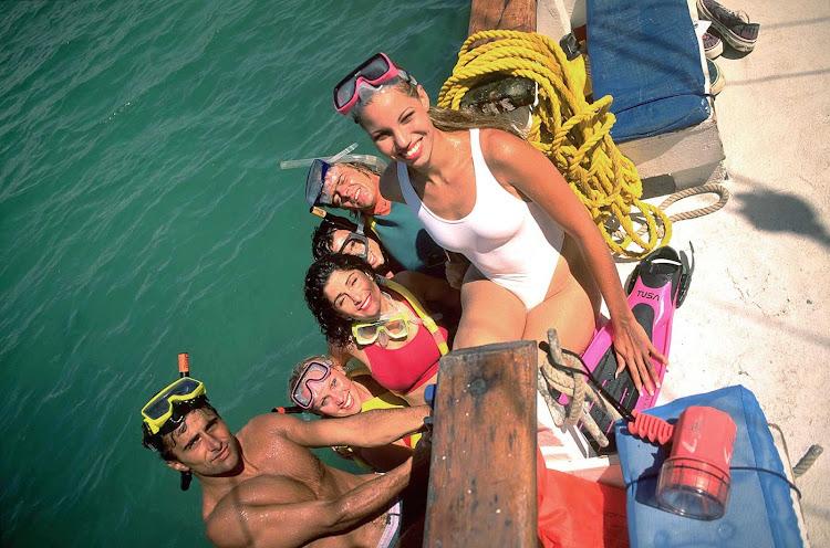 A snorkeling trip on Aruba.