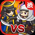 戦国ディフェンス~新感覚操作型タワーディフェンスゲーム icon