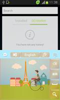 Screenshot of Paris Keyboard Free