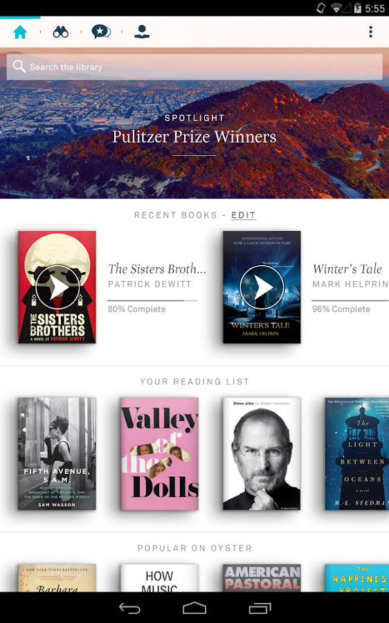Oyster – Read Unlimited Books - screenshot