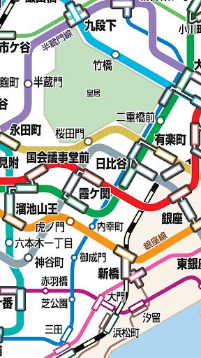 【免費交通運輸App】東京地鐵路線圖-APP點子