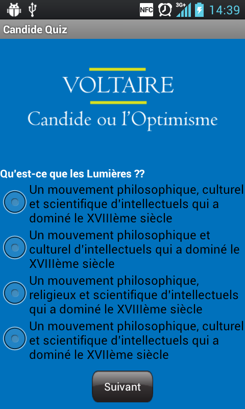 questions on voltaire s candide Unable to find ready answers to his questions, voltaire concludes his poem in  voltaire's writing of candide coincided with a bloody international struggle for.