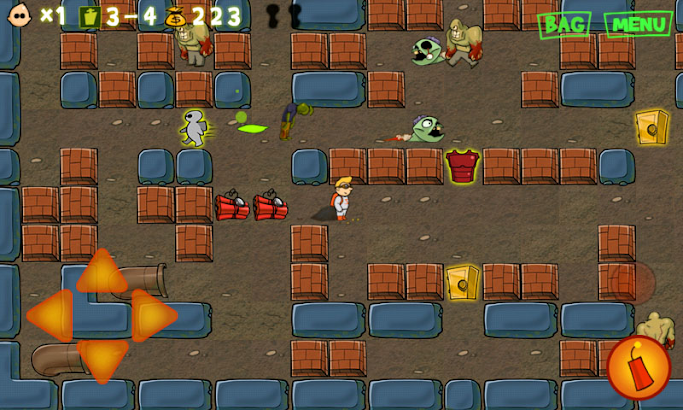 Zomberman screenshot