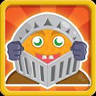 Orange knight icon
