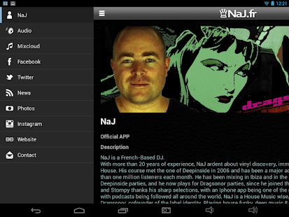 NaJ House Music  Mixes - screenshot thumbnail