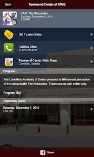 Townsend Center UWG - náhled
