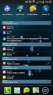 aCalendar+ Android Calendar - screenshot thumbnail