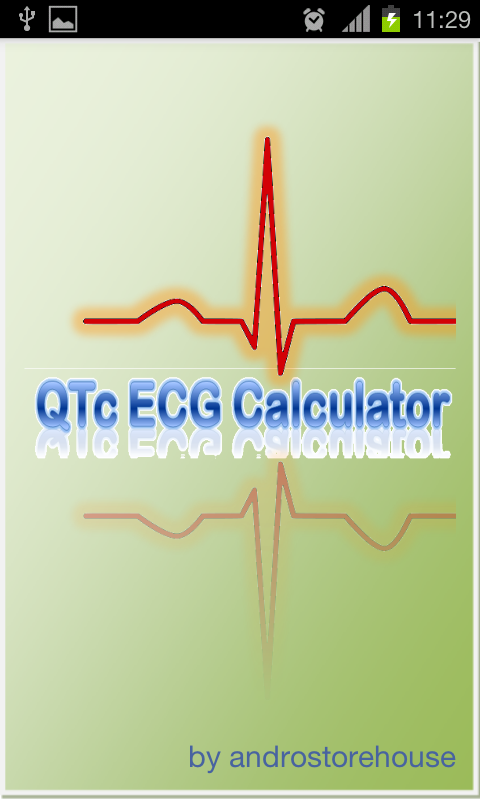 QTc ECG Calculator - screenshot