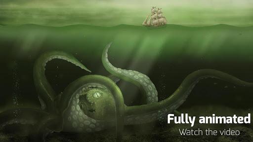 Kraken Live Wallpaper для планшетов на Android