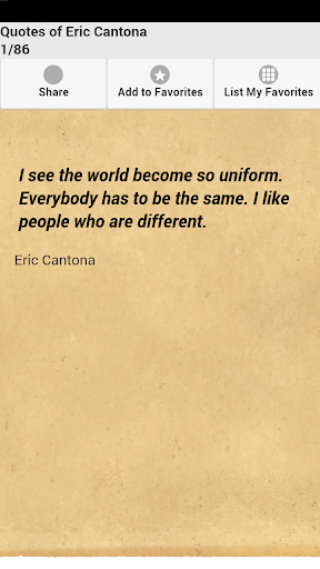 Quotes of Eric Cantona