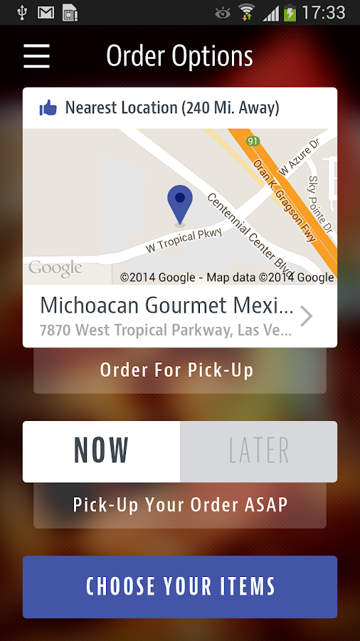 Michoacan Mexican Restaurant- screenshot