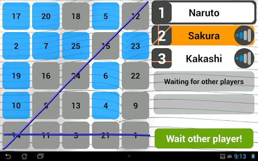 Wi-Fi Bingo Multiplayer